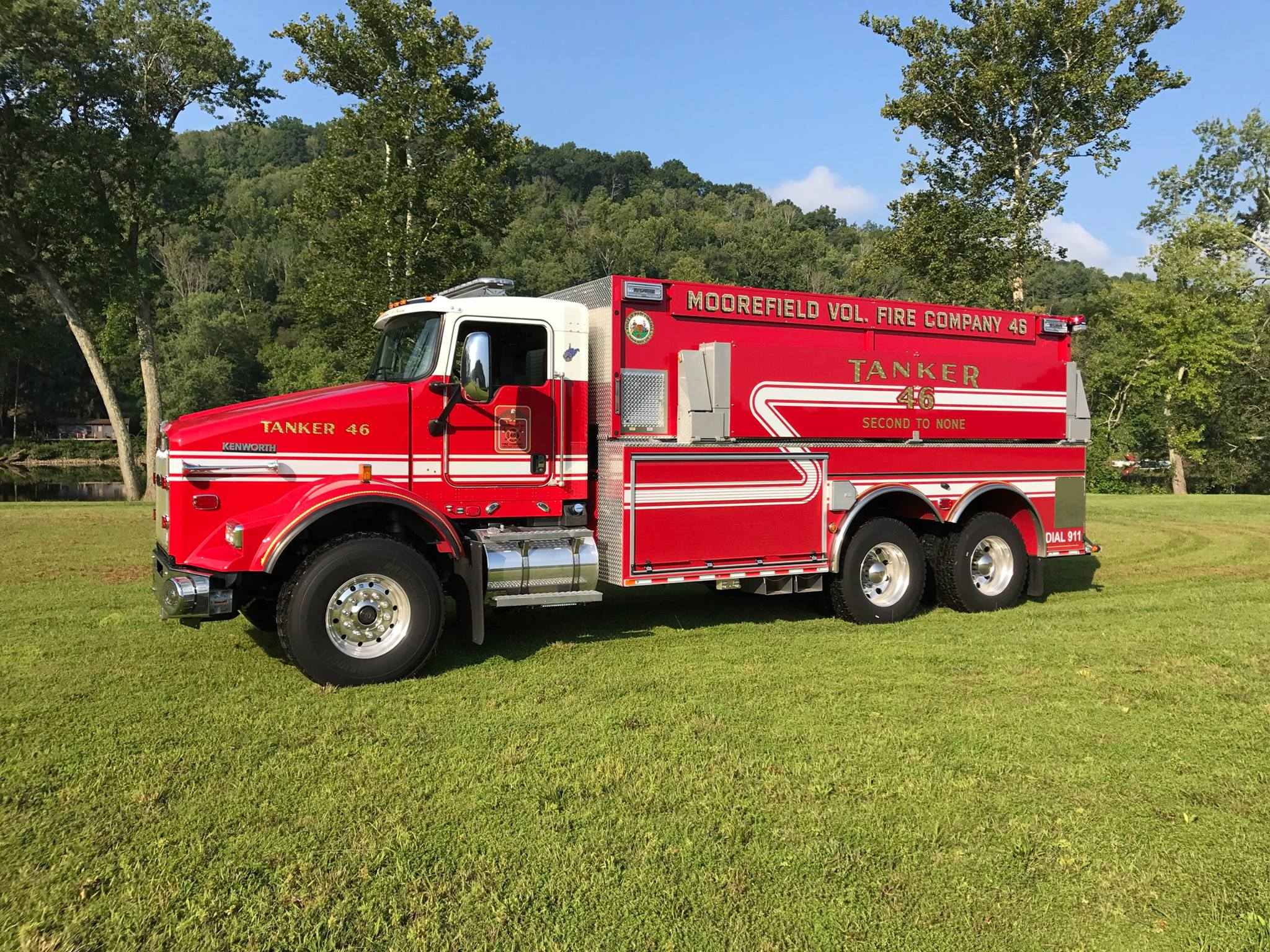 2017 Kenworth Pierce Fire Truck Tanker 46